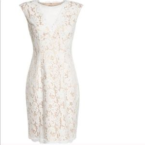 Vince Camuto Illusion lace dress NWT